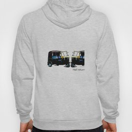 Half Return Hoody