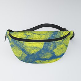 Abstract - in yellow & green Fanny Pack
