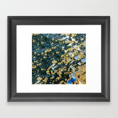 reflection abstract Framed Art Print