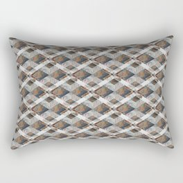 Geometric Collage Rectangular Pillow