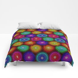 Colour Circles Comforters