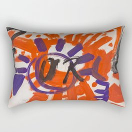 Sun or Moon Rectangular Pillow