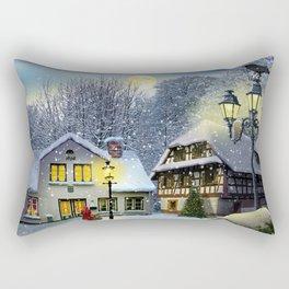Winter time ... Christmas time Rectangular Pillow