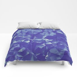 Blue Crystals Comforters