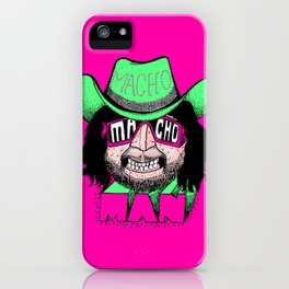 Macho Macho Man! (Randy Savage) iPhone Case
