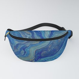 Agate - An Abstract Fanny Pack