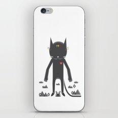 BLACK POND 2 iPhone & iPod Skin