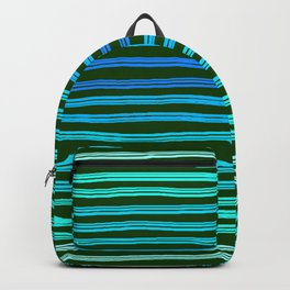 Forget Monday Blues with stripes! Backpack