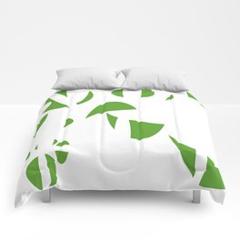 Abstract the Green Comforters