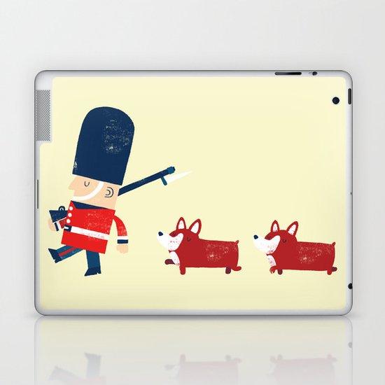 Her Majesty's guards Laptop & iPad Skin