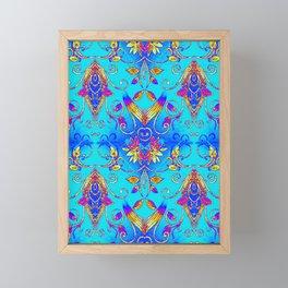 Floral Tapestry 4 Framed Mini Art Print