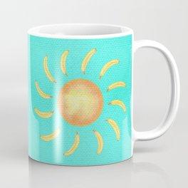 Banana Sun Coffee Mug