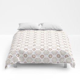 Rock pool kaleidoscope Comforters