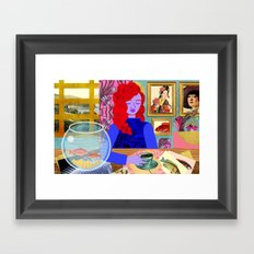 Aquarium Room Framed Art Print