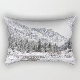 Winter Wilderness Rectangular Pillow