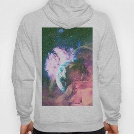 Space Earth Watercolor Hoody