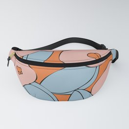 warm 70s Fanny Pack