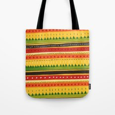 Pattern Doodle (Yellow) Tote Bag