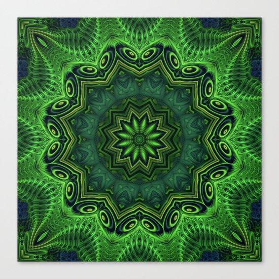 Harmony in Green Canvas Print