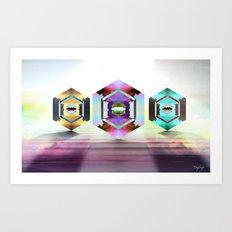 Aquarius Pearls  Art Print