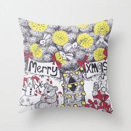 Merry Xmas Throw Pillow