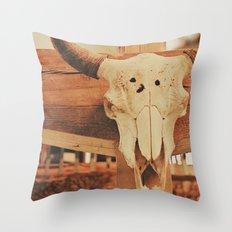 Cowboy Ranch Throw Pillow