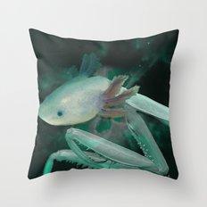 Axolante Throw Pillow