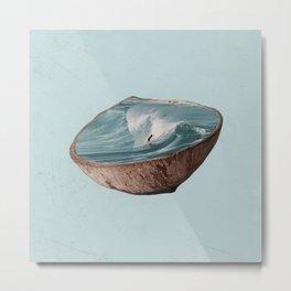 Coconut (1/2) Metal Print