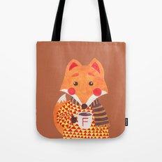 Winter Season is Coming (Fox Version) Tote Bag