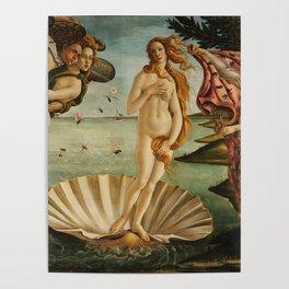 The Birth of Venus - Nascita di Venere by Sandro Botticelli Poster