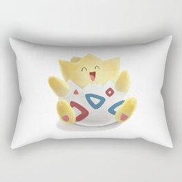 Watercolor Togepi Rectangular Pillow