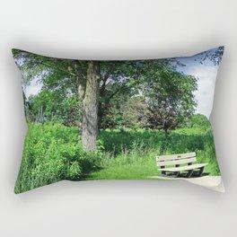 Introspective Analysis Rectangular Pillow