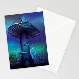 Magic Mushroom Tree Stationery Cards