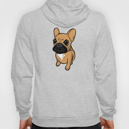 Fawn Frenchie Puppy Hoody