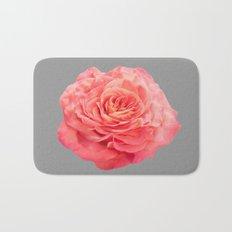 Peach Rose Bath Mat