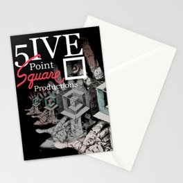 5 Point Square Productions Stationery Cards