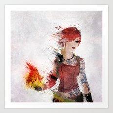 Lilith Art Print