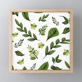 Flower Design Series 9 Framed Mini Art Print