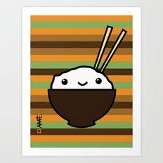 Ricebowl Art Print