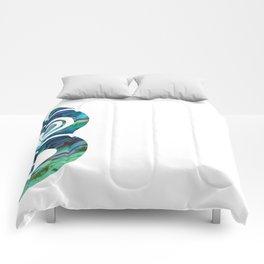 Tiki White Comforters