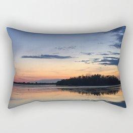 Parc des voiles, Municipalité de Saint-Mathias-sur Richelieu, Québec, Canada Rectangular Pillow