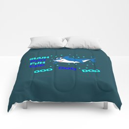 baby shark funny sarcastic annoying song. Comforters