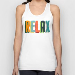 Relax Unisex Tank Top