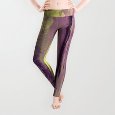 Yellow Color Patches Leggings
