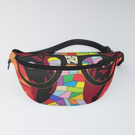 Spectacled Cow Fanny Pack