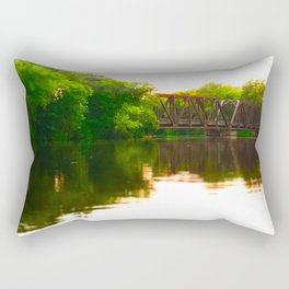 Leidel's Bridge Rectangular Pillow