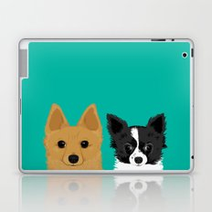 Pippen & Sooty - Teal Laptop & iPad Skin