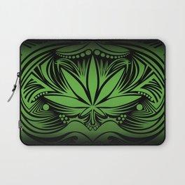 Weed3 green/black Laptop Sleeve