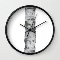 Totem Poll Wall Clock