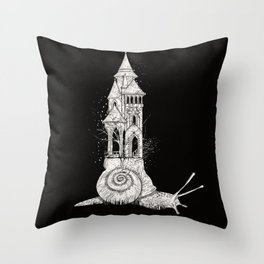 Ivory tower Throw Pillow